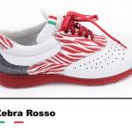 Golfschuhe_Belleggia_Zebra_Rosso